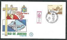 1980 VATICANO VIAGGI DEL PAPA BRASILE RIO DE JANEIRO - EV