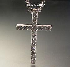 Viventy * Halskette * Kette mit Kreuz Anhänger * Silber * Zirkonia * 775042