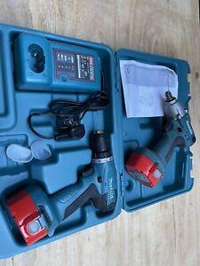 Makita 14.4v Drill Driver And Impact Wrench