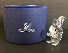 SWAROVSKI Crystal Squirrel with Nut with Box