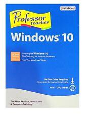 Professor Teaches Windows 10 Training PMC-W10 - RETAIL PACKAGING
