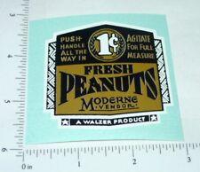 1 Cent Moderne Peanut Vending Machine Sticker      V-48