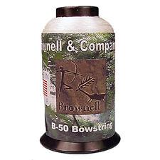 Brownell Dacron B50 Bow string Fiber .018 1/4 lb. White