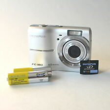 Olympus FE-180 6.0 Megapixel Camera with 1 GB xD Picture Card & Batteries