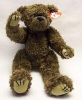 "TY Attic Treasures TYRONE  BROWN JOINTED TEDDY BEAR 12"" Plush Stuffed Animal NEW"