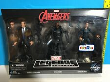 MARVEL LEGENDS AGENT COULSON NICK FURY MARIA HILL 6INCH AVENGERS AGENTS SHIELD