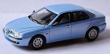 Alfa Romeo 156 Limousine 1997-2003 eisblau ice-blue metallic 1:43 Solido