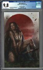 Die!namite #1 CGC 9.8 Lucio Parrillo RED SONJA VIRGIN Variant Cover