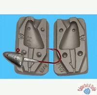 Jig Head Mould Fishing Lure 140g Uses VMC Jig Hooks5150 size 10/0 Heavy Duty