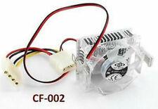 586 Pentium CPU Crystal Cooler 53x53x25.3mm Fan w/ Heat Sink Socket CF-002