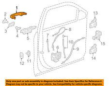 GM OEM-Outside Exterior Door Handle 13593749