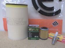 Yamaha Timberwolf 250 Tune Up Kit Dual Layer Air Filter Oil Filter Spark Plug
