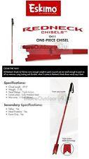 CH11 REDNECK Eskimo Ice Fishing 1 Piece Heavy Duty Ice Chisel Grip Handle