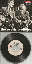 THE EVERLY BROTHERS BEST of Europe Made LIMITED NEWSPAPER PROMO CD USA seller
