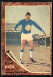 A&BC Gum, FOOTBALLERS, Make A Photo, 1963, Trevor Smith, Birmingham City, #62