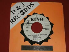 JOHNNIE SPENCE~ ADVENTURES IN PARADISE~ A KILLER~ POPCORN~ ~ INSTRUMENTAL 45