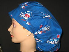 Surgical Scrub Hats/Caps  MLB  Chicago Cubs  2016 World Series Championship