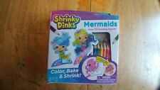 Mermaids Shrinky Dinks 10 Standing Figures Color Bake Shrink