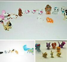 Barbie, Disney + More  HUGE LOT  of  Plastic Toy DOGS and CATS Figures