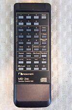 NAKAMICHI MB-3RC REMOTE CONTROL