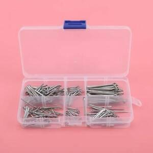 HOT Straight Split Cotter Pins Split-Pin Marine Grade Stainless Steel Hairpin