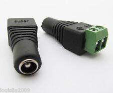 6pcs 5.5x2.5mm 5525 DC Power Female Jack CCTV Connector new
