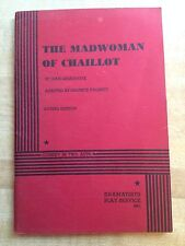 THE MADWOMAN OF CHAILLOT by Jean Giraudoux Dramatists Play Service Acting Ed1947
