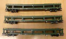 Tillig TT 01638 3tlg.Autotransportwagen-Set DB  Ep.5  NEU & OVP