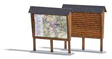 Busch 1495 HO (1/87): 2 Aanplakborden, hout