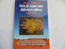 Jack Lange's Gold Hunting Adventures Book - Metal Detecting for Gold Nuggets