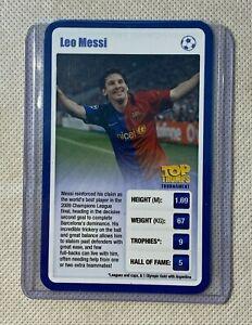 LEO MESSI - FC BARCELONA - PSG - TOP TRUMPS - SPORTING HEROES 2009 - RARE
