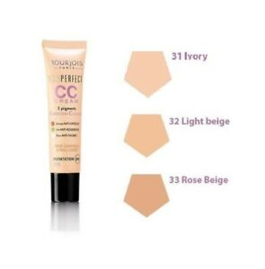 Bourjois 123 Perfect CC Cream Foundation Face 24HR Hydration   --Choose shade---