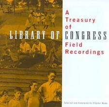 VARIOUS ARTISTS - TREASURY OF LIBRARY OF CONGRESS FIELD RECORDINGS USED - VERY G