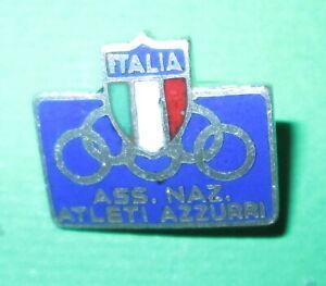 Olimpiadi - Italia Spilla distintivo ASSOCIAZIONE NAZIONALE ATLETI AZZURRI -