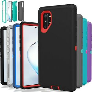 Samsung Galaxy Note 10 Only Case Shockproof Hybrid Hard Rugged Rubber TPU