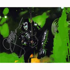 Gene Simmons - Kiss (74741) Authentic Autographed 8x10 + COA