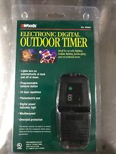 WOODS ELECTRONIC DIGITAL OUTDOOR TIMER MODEL #83660 New In Package