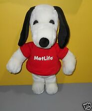 Determined Productions Peanuts Snoopy Dog Stuffed Plush MetLife T-Shirt