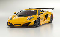 Kyosho Mini-Z body McLaren 12C GT3 2013 orange neu