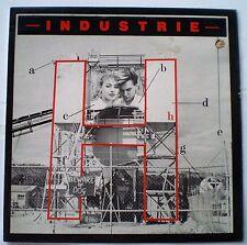 """INDUSTRIE - LP - """" H """" - OZ INDIE 1983 - EMI CUSTOM PRESSING"""