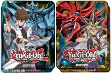 YU-GI-OH! MEGA TINs 2016 both 2 tins YUGI & SLIFER + KAIBA & OBELISK god cards