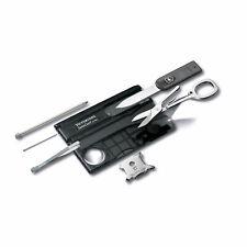 VICTORINOX Swiss Card Lite Black 0.7300.T3 c/LED bianco **NUOVA COLORE NERO**