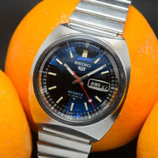 Vintage (Jan 1972) SEIKO 5 SPORTS automatic 6119-6023, 21 jewels 1970s, serviced