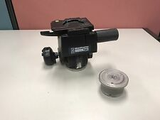 Manfrotto / Bogen 3263 Deluxe Gear Tripod Head with Quick Release. Model 400