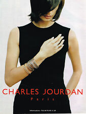 PUBLICITE ADVERTISING 025  1997  CHARLES JOURDAN   bijoux haute couture