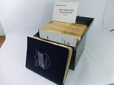 Large Lot of Vintage Bell & Howell Projector Service Manuals/Instructions -List-