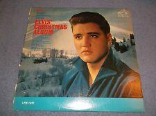 ELVIS SINGS CHRISTMAS SONGS ELVIS' CHRISTMAS ALBUM VINYL LP RCA VICTOR LPM-1951