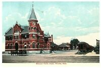 Missouri Pacific Depot Witchita Kansas Vintage Postcard Posted