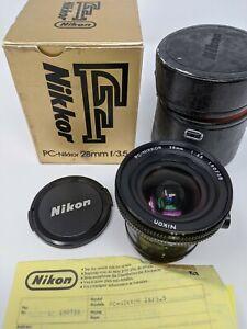 Nikon 28mm F/3.5 AI-S PC Lens