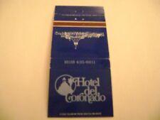"""1- Match cover, """"THE HOTEL DEL CORONADO"""", San Diego, CA."""